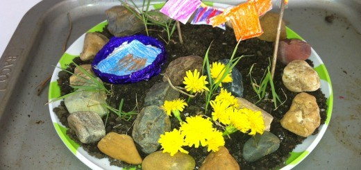 make a miniature fairy garden