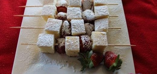 strawberry shortcake kebabs