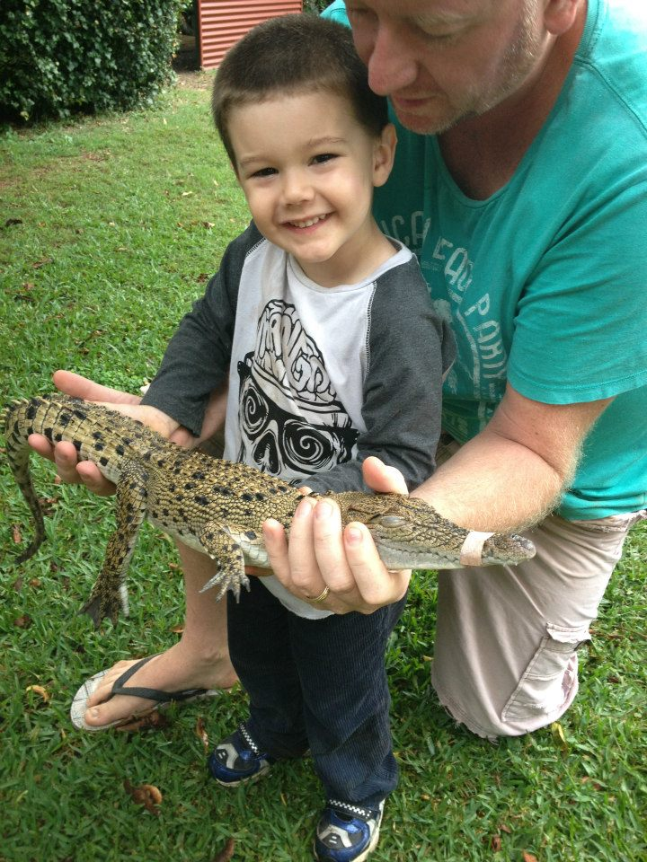 snakes downunder with kids