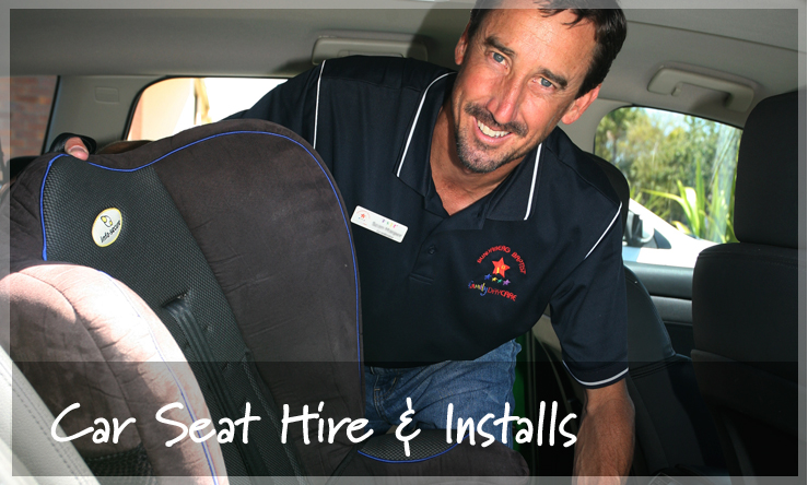 Car Seat Hire Bundaberg - Wide Bay Kids