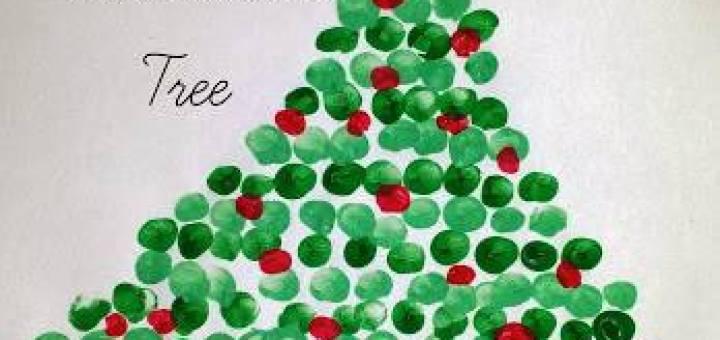 Fingerprint Christmas Tree