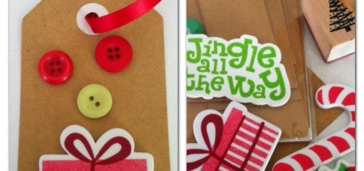 homemade gift tags