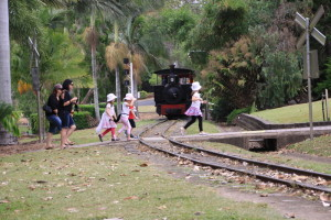 steam train ride botanic gardens