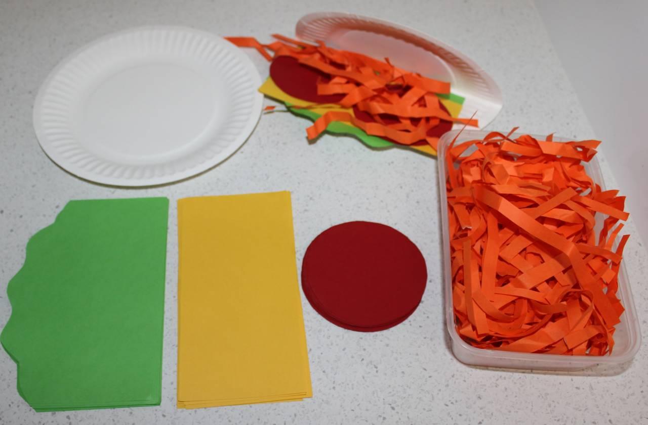 Paper Plate Food Crafts Wide Bay Kids