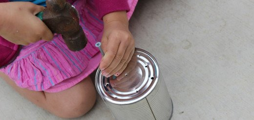 diy kids watering can