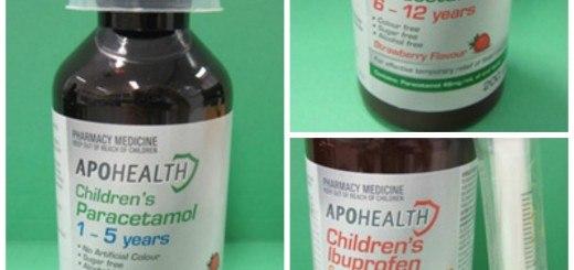 Children's paracetamol recall