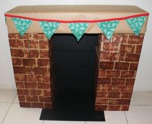 Cardboard Christmas Fireplace.Christmas Cardboard Fireplaces Wide Bay Kids