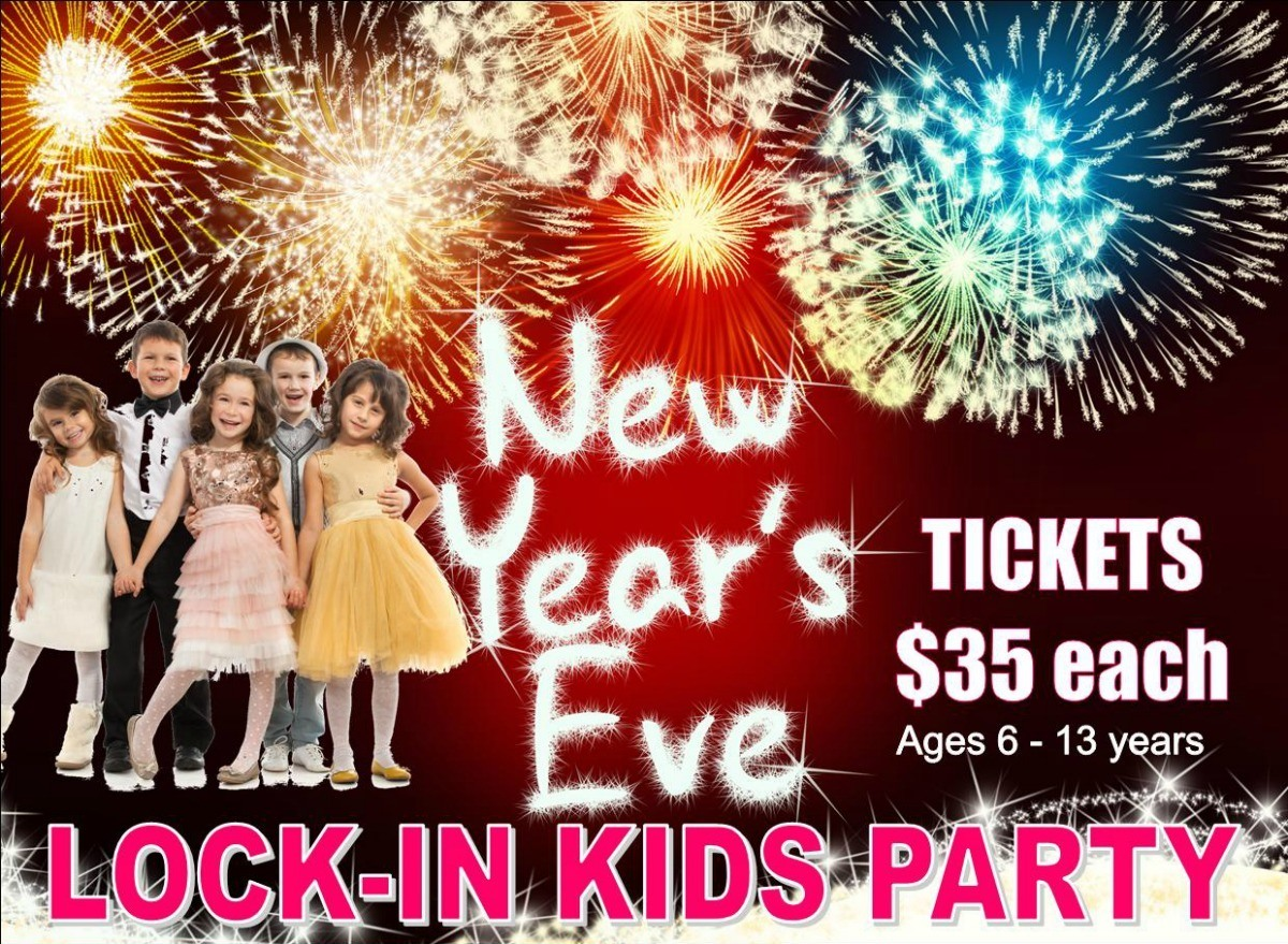 kids lock-in party