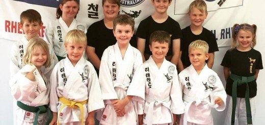kids rhee taekwon do bundaberg