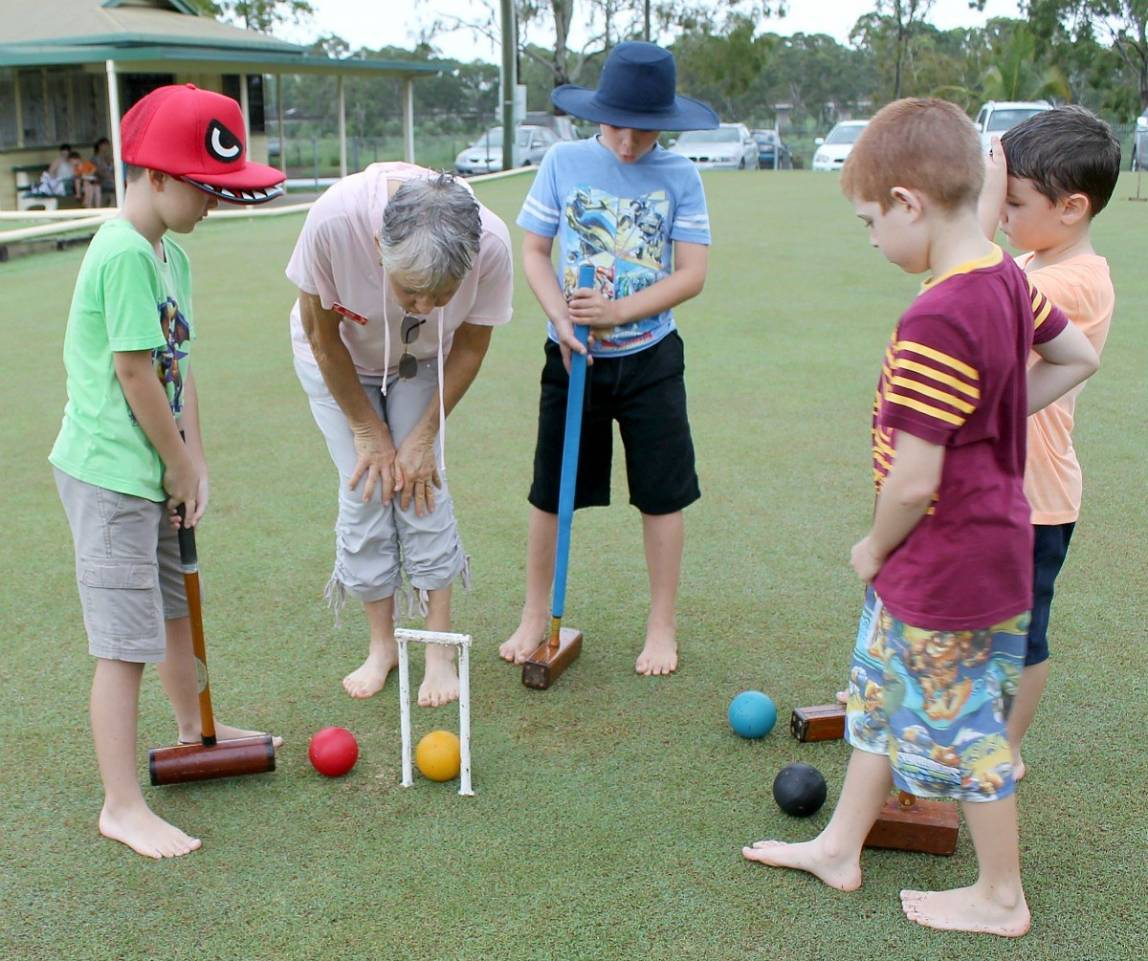 bundaberg croquet australia day