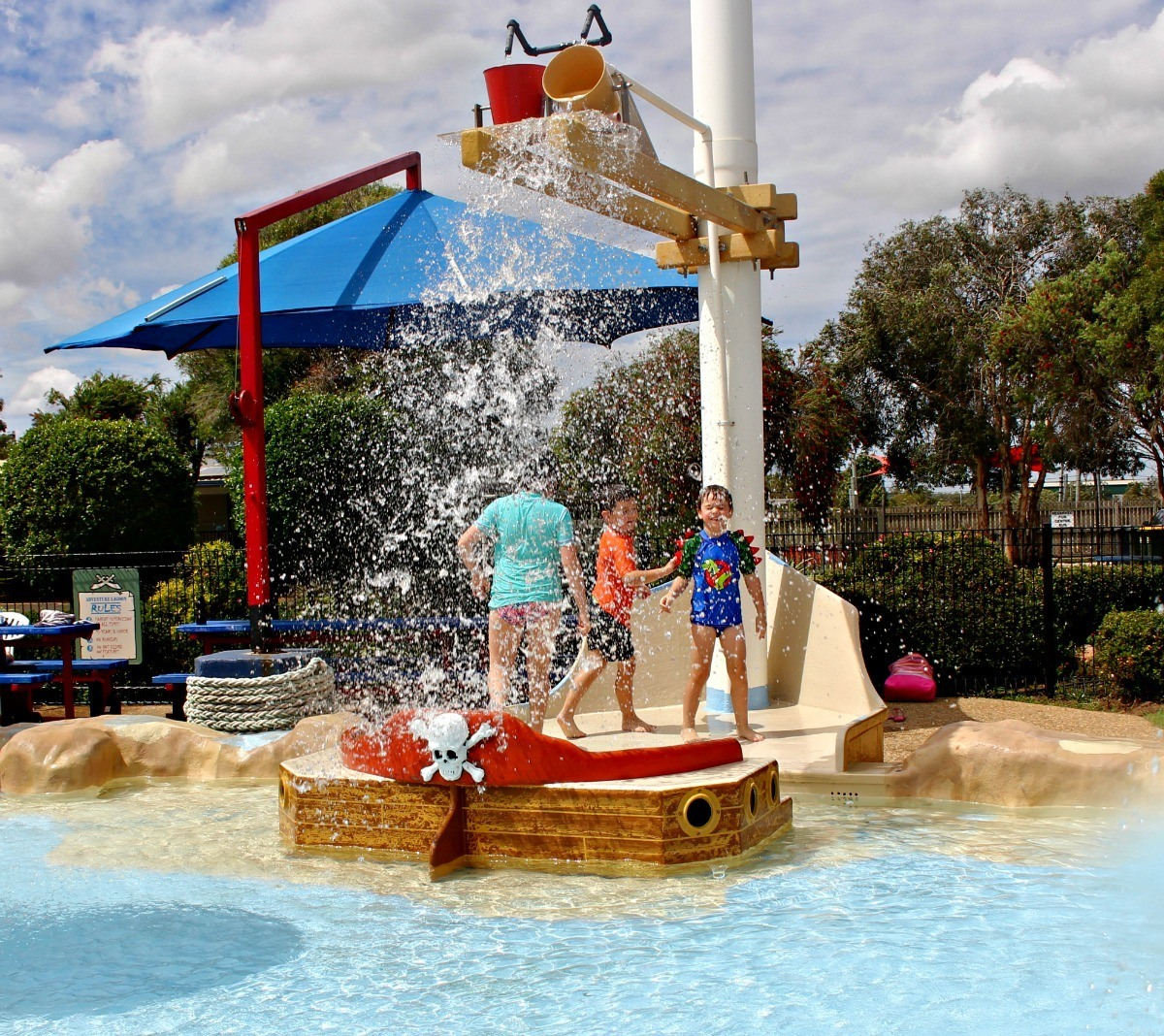 kids water park bundaberg