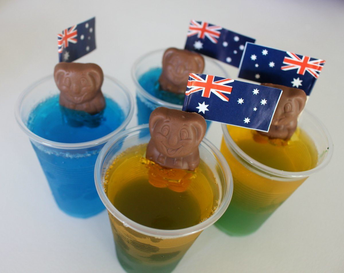 australia day foods surfing koalas