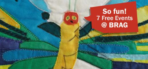 The Very Hungry Caterpillar free brag events