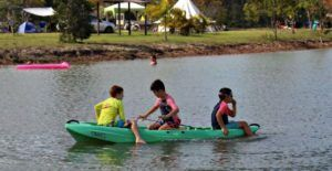 Kayaking with kids bundaberg