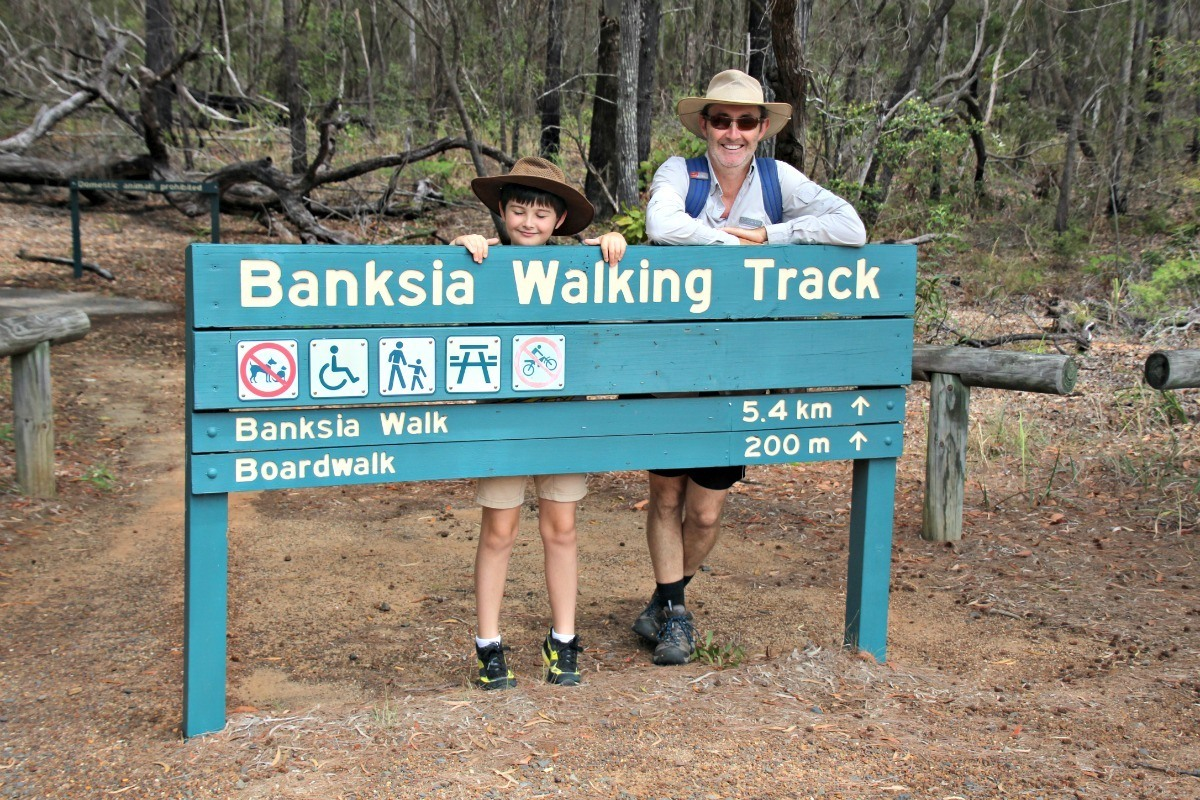 woodgate banksia walking track