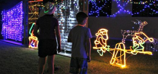 hervey bay christmas lights map
