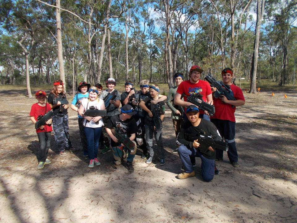 Bundaberg Laser Skirmish