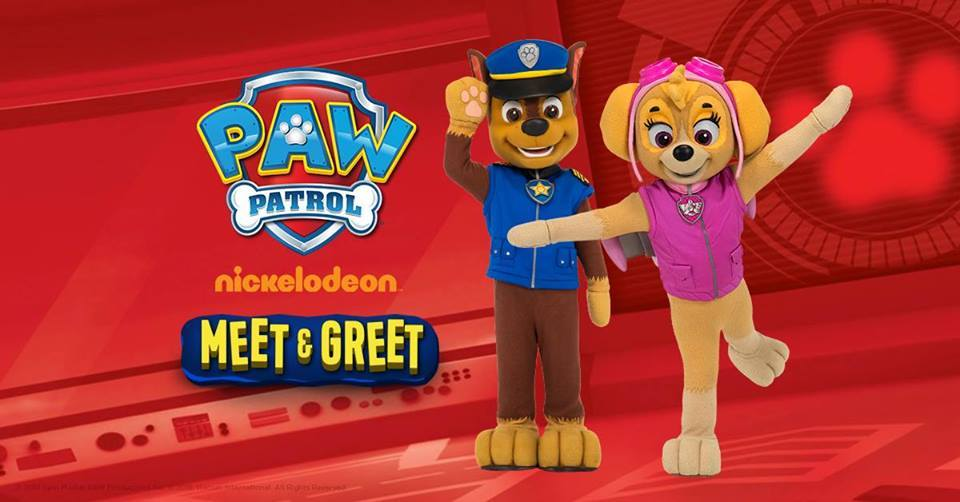 PAW Patrol Chase and Skye at Hinkler Central - Wide Bay Kids